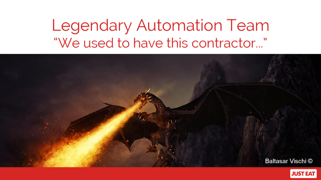 """Legendary Automation Team """"We used to have this..."""