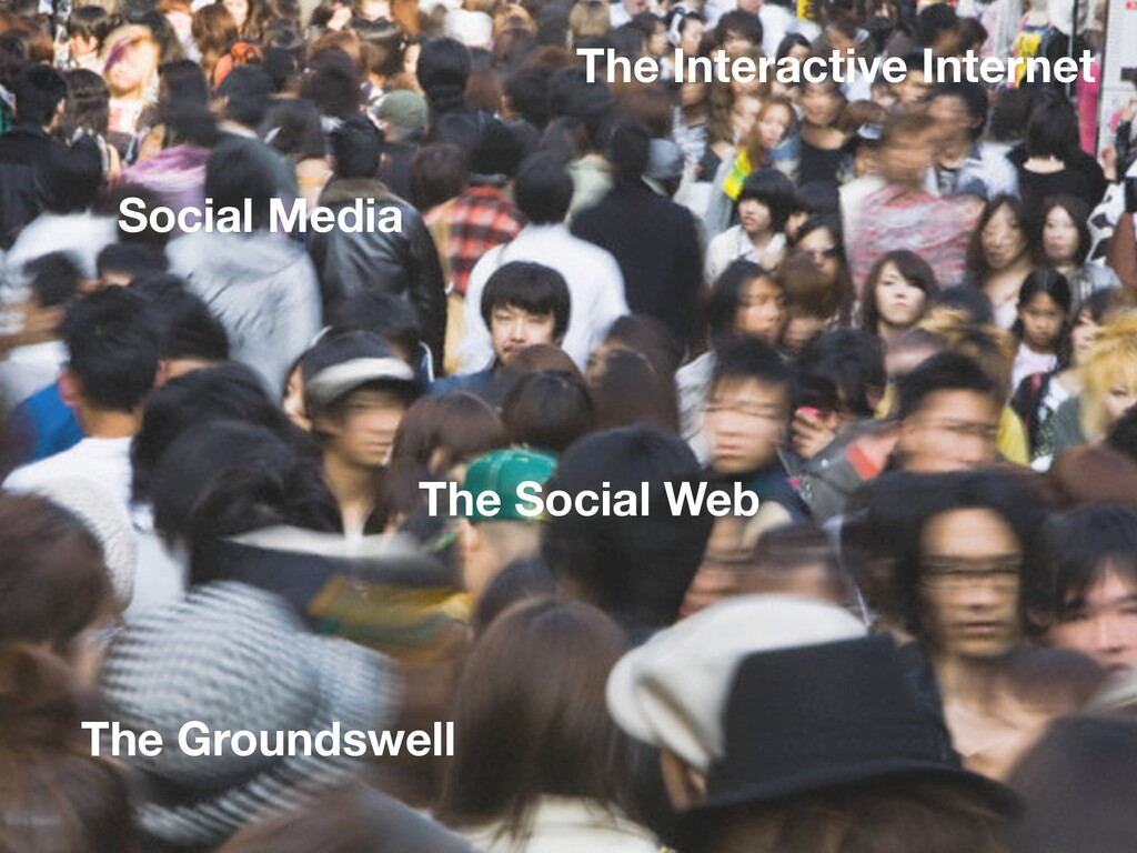 The Groundswell The Social Web The Interactive ...