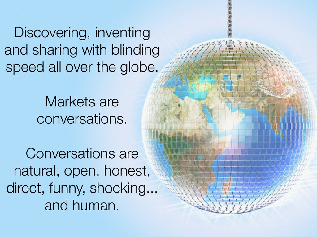 Discovering, inventing and sharing with blindin...