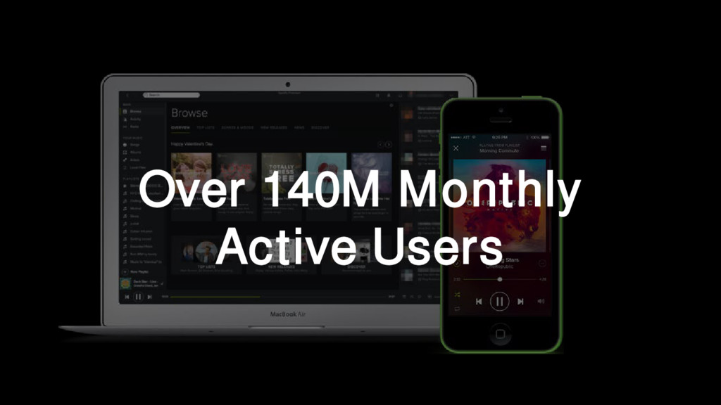 Over 140M Monthly Active Users