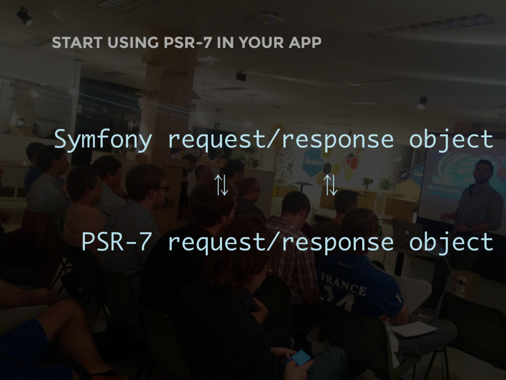 START USING PSR-7 IN YOUR APP Symfony request/r...