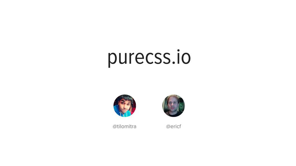 purecss.io github.com/yui/pure/ purecss.io @til...
