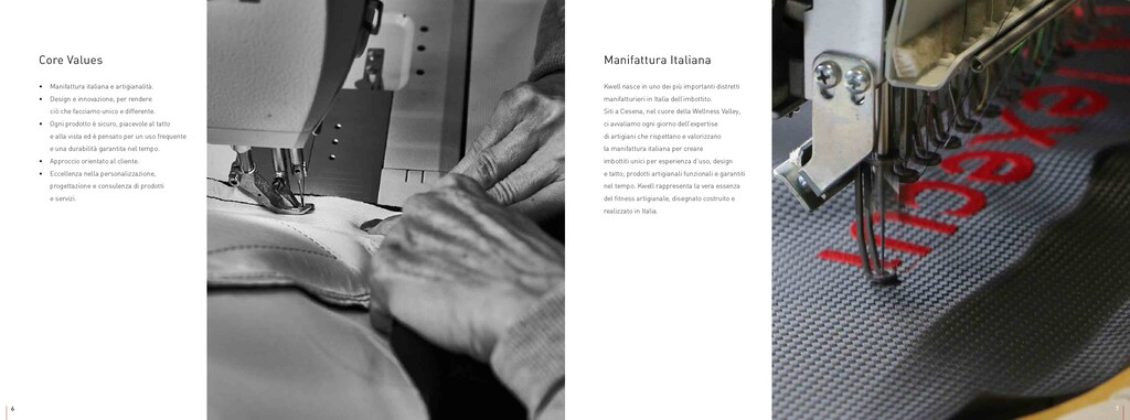 Core Values • Manifattura italiana e artigianal...