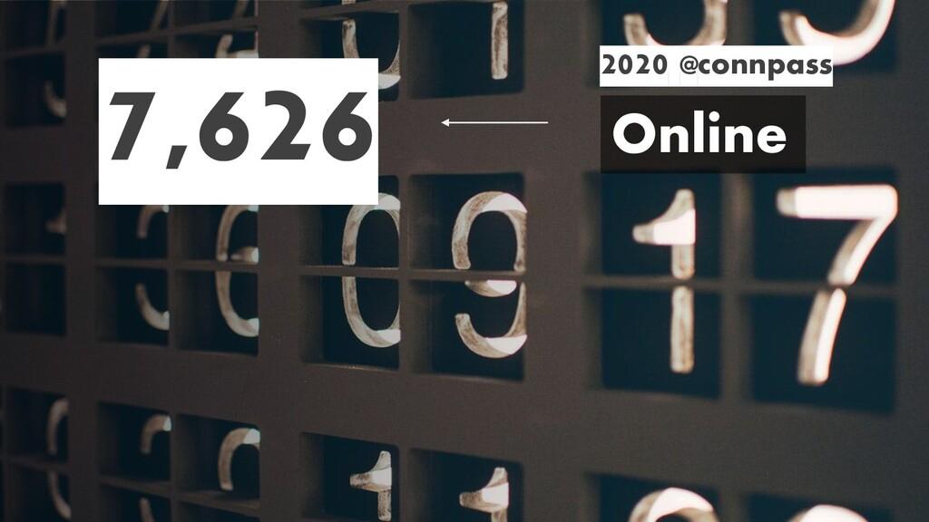 Online 2020 @connpass 7,626