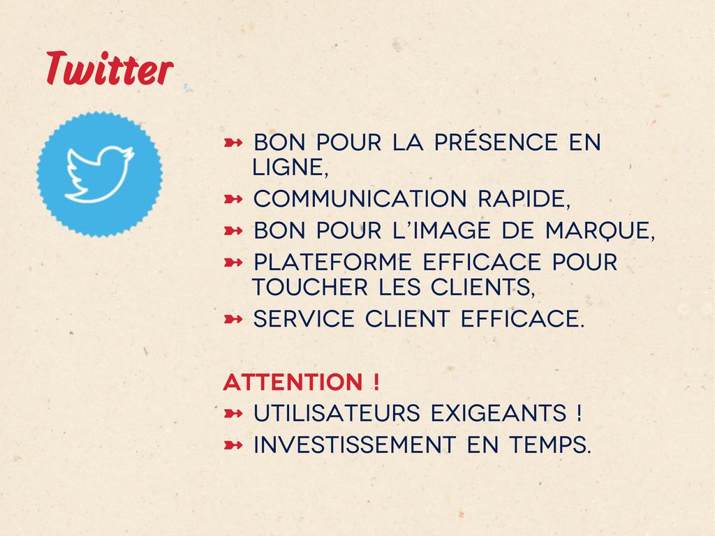 Twitter ➼ Bon pour la présence en ligne, ➼ C...