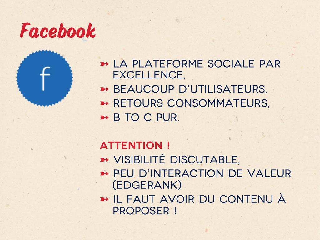 Facebook ➼ La plateforme sociale par excellen...