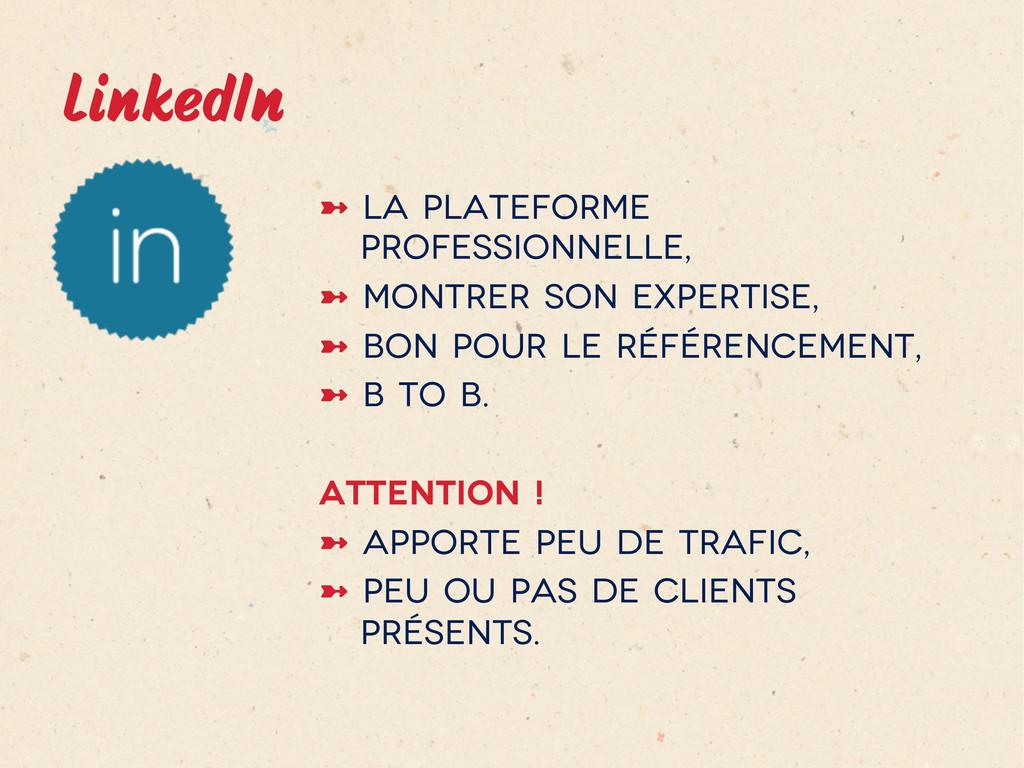 LinkedIn ➼ La plateforme professionnelle, ➼ ...
