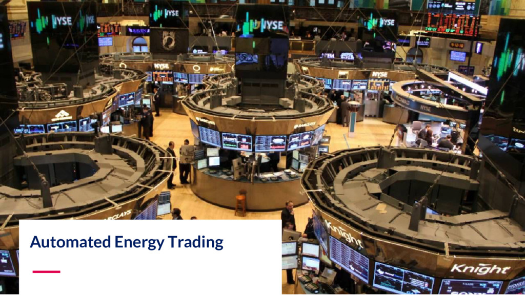 Automated Energy Trading