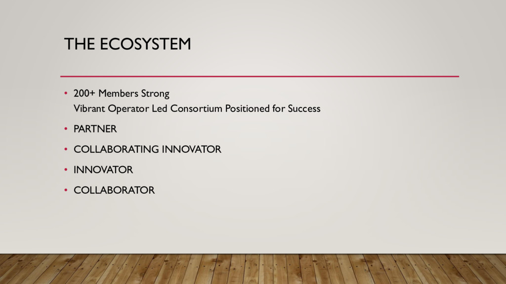 THE ECOSYSTEM • 200+ Members Strong Vibrant Ope...