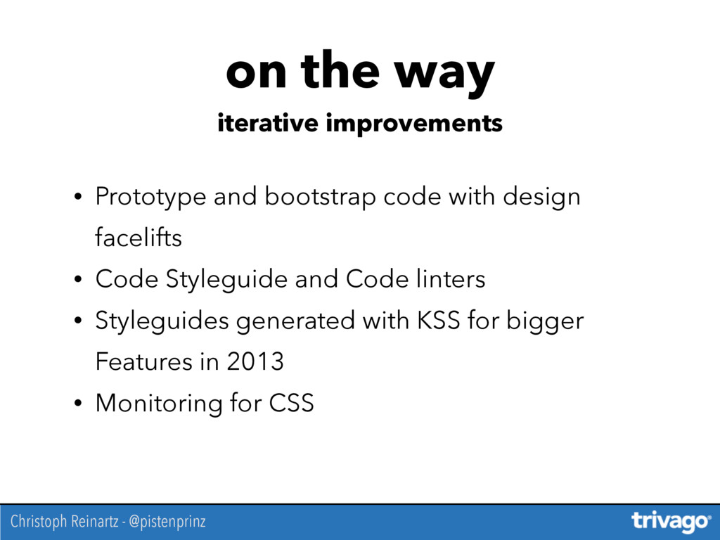 • Prototype and bootstrap code with design face...