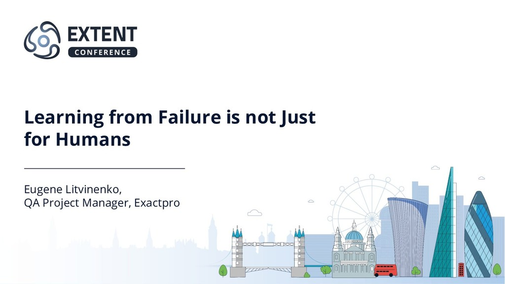 Learning from Failure is not Just for Humans Eu...