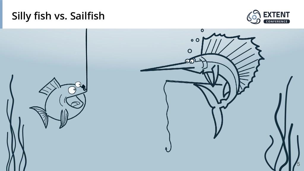 Silly fish vs. Sailfish 5