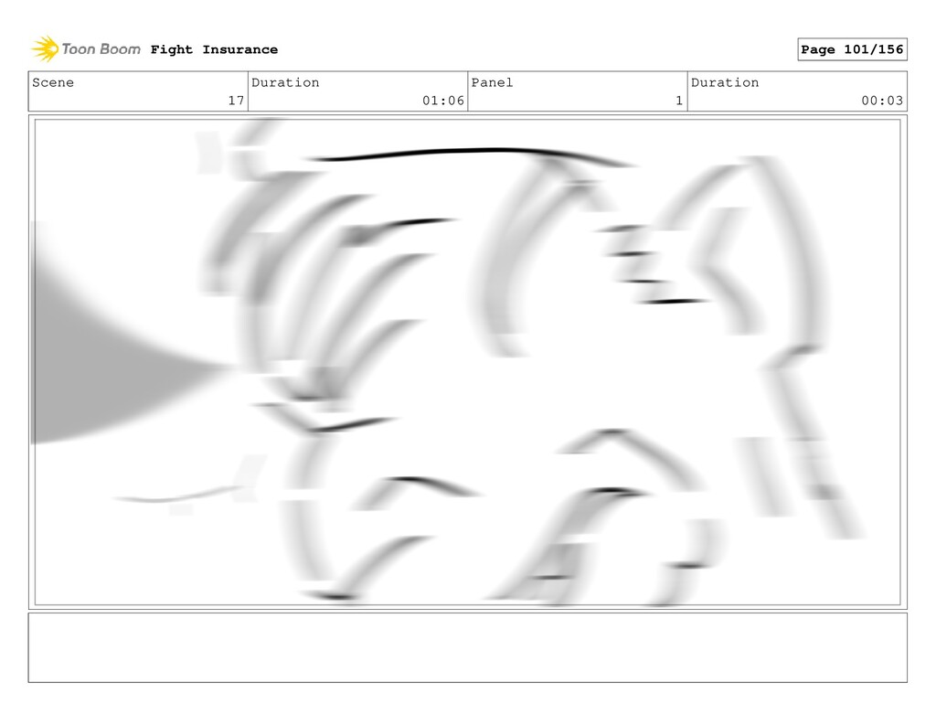 Scene 17 Duration 01:06 Panel 1 Duration 00:03 ...