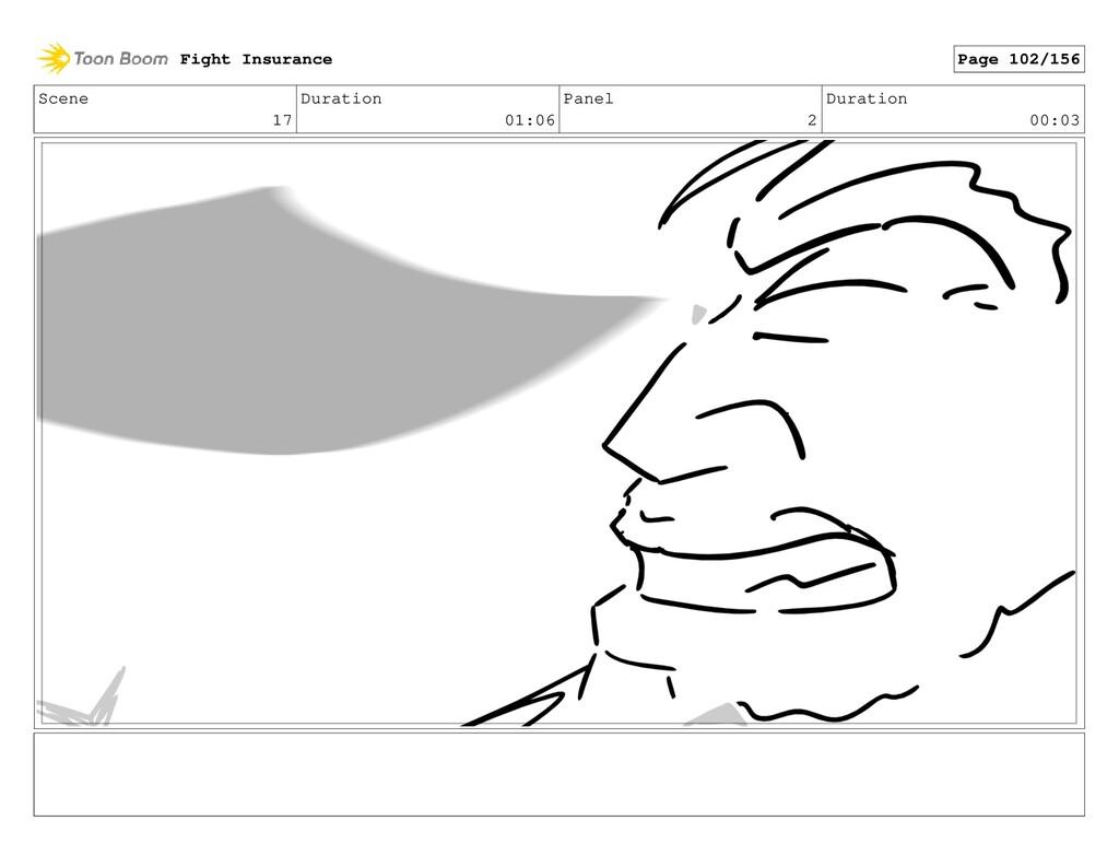 Scene 17 Duration 01:06 Panel 2 Duration 00:03 ...