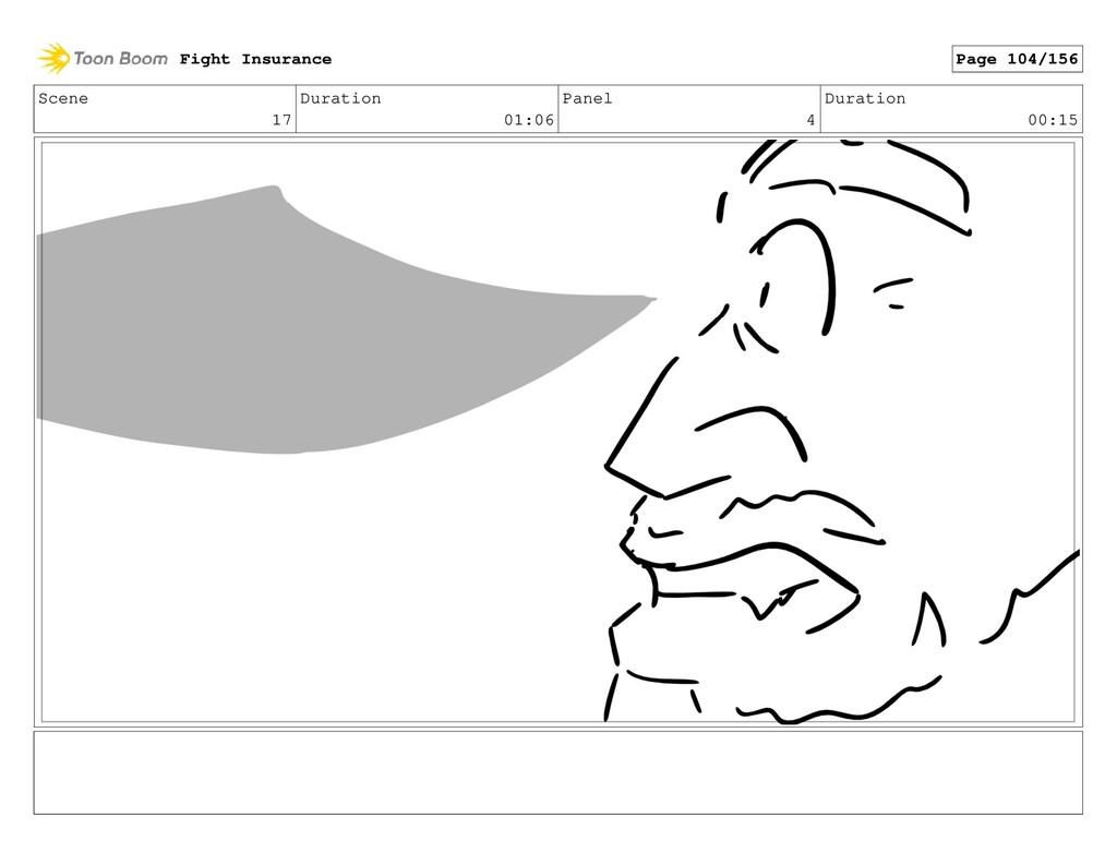 Scene 17 Duration 01:06 Panel 4 Duration 00:15 ...