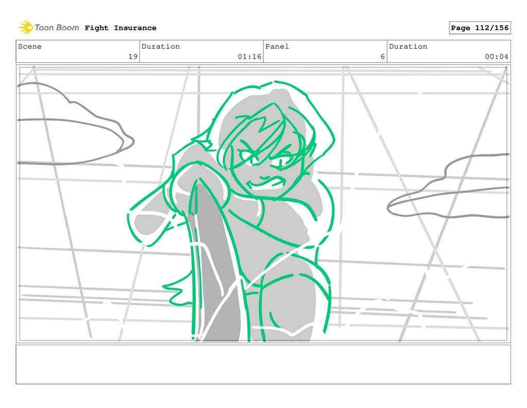 Scene 19 Duration 01:16 Panel 6 Duration 00:04 ...