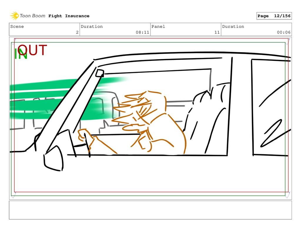 Scene 2 Duration 08:11 Panel 11 Duration 00:06 ...