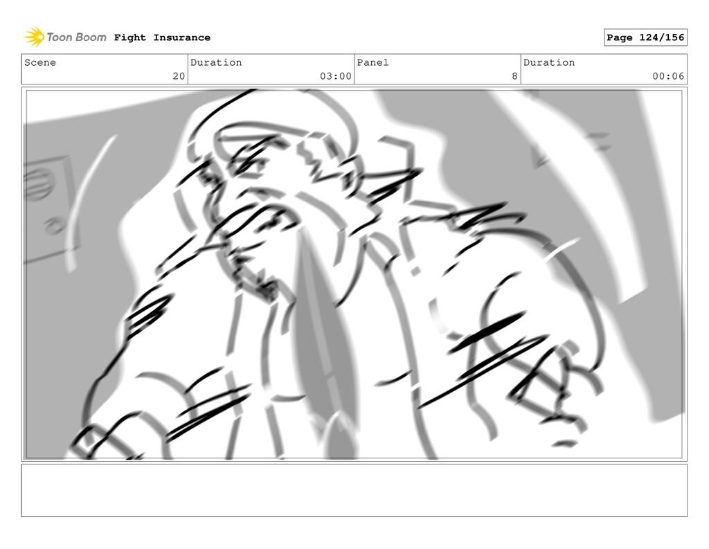 Scene 20 Duration 03:00 Panel 8 Duration 00:06 ...