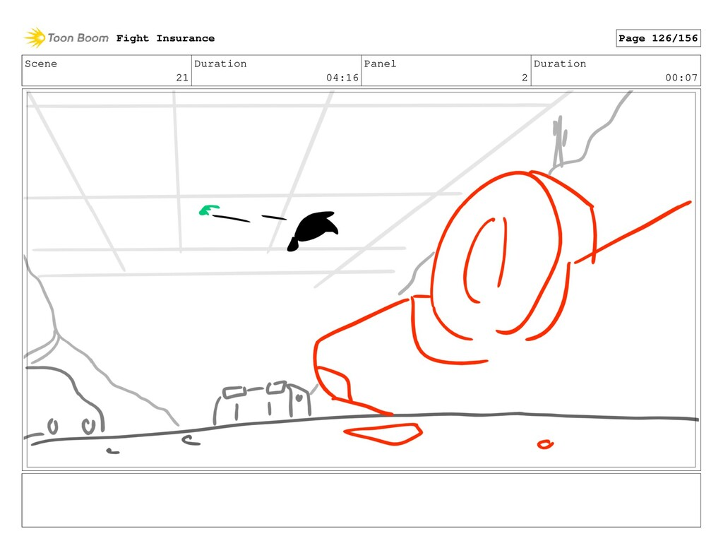 Scene 21 Duration 04:16 Panel 2 Duration 00:07 ...