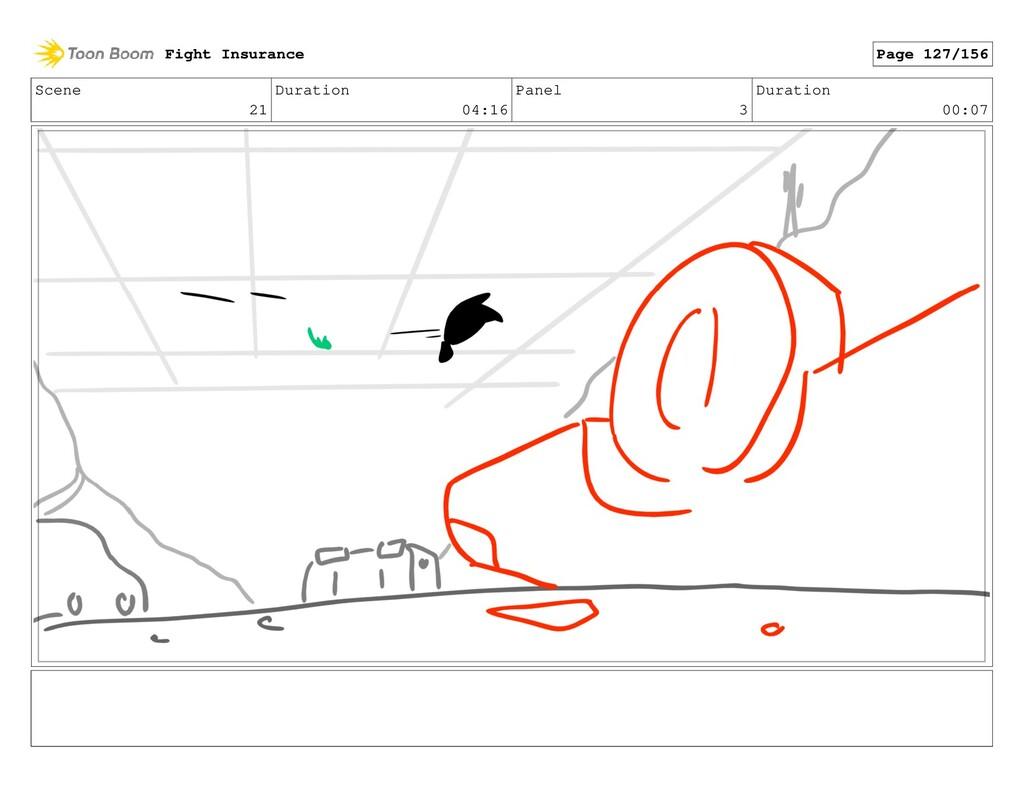 Scene 21 Duration 04:16 Panel 3 Duration 00:07 ...