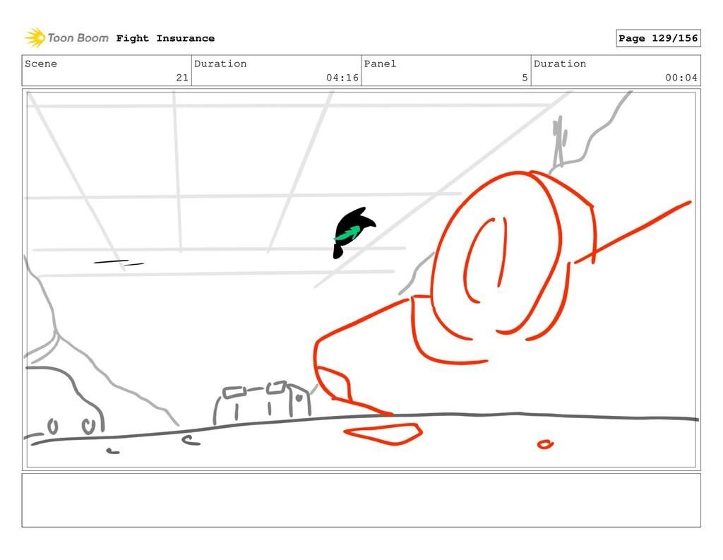 Scene 21 Duration 04:16 Panel 5 Duration 00:04 ...