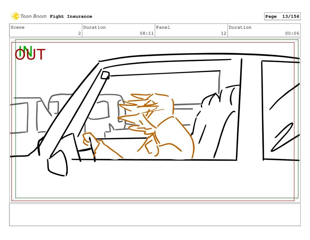 Scene 2 Duration 08:11 Panel 12 Duration 00:06 ...
