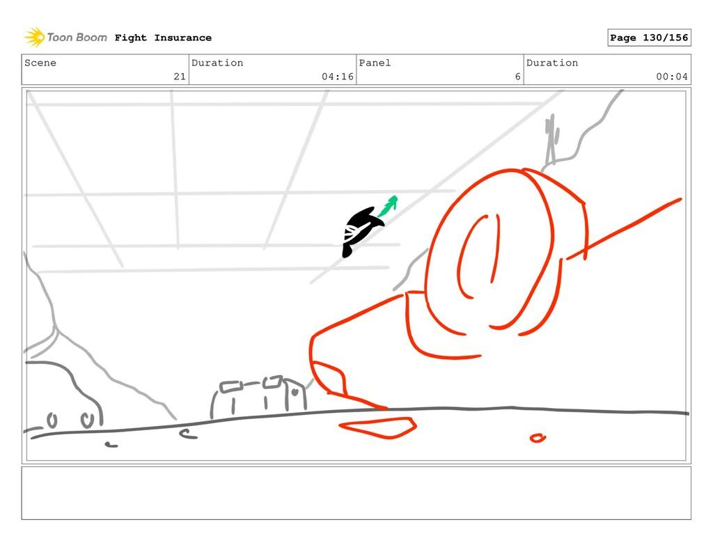 Scene 21 Duration 04:16 Panel 6 Duration 00:04 ...