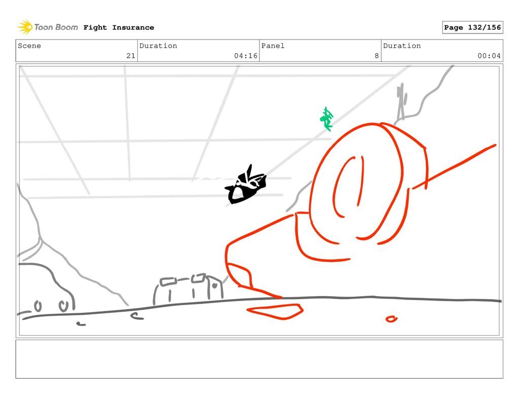 Scene 21 Duration 04:16 Panel 8 Duration 00:04 ...