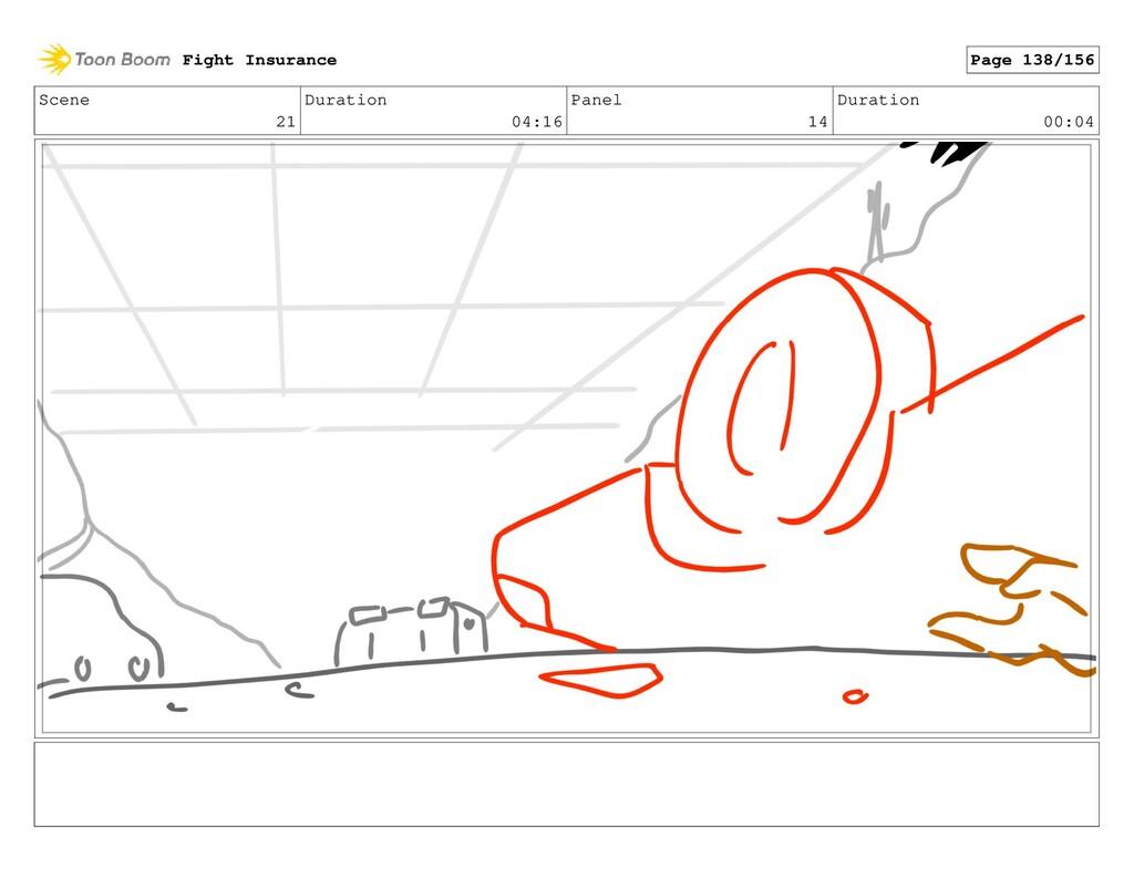 Scene 21 Duration 04:16 Panel 14 Duration 00:04...
