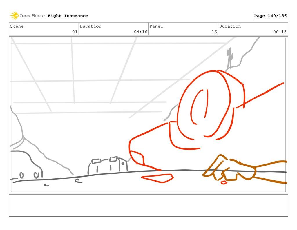 Scene 21 Duration 04:16 Panel 16 Duration 00:15...
