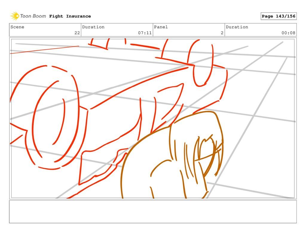 Scene 22 Duration 07:11 Panel 2 Duration 00:08 ...