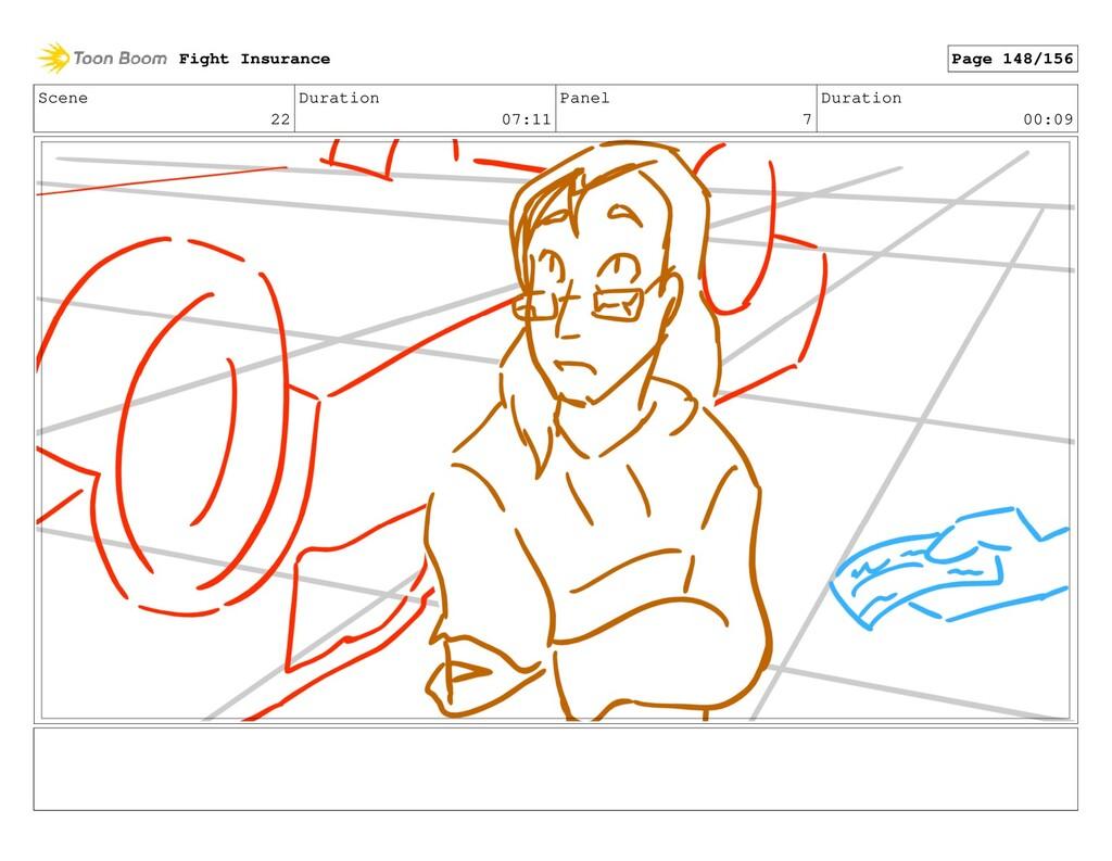 Scene 22 Duration 07:11 Panel 7 Duration 00:09 ...