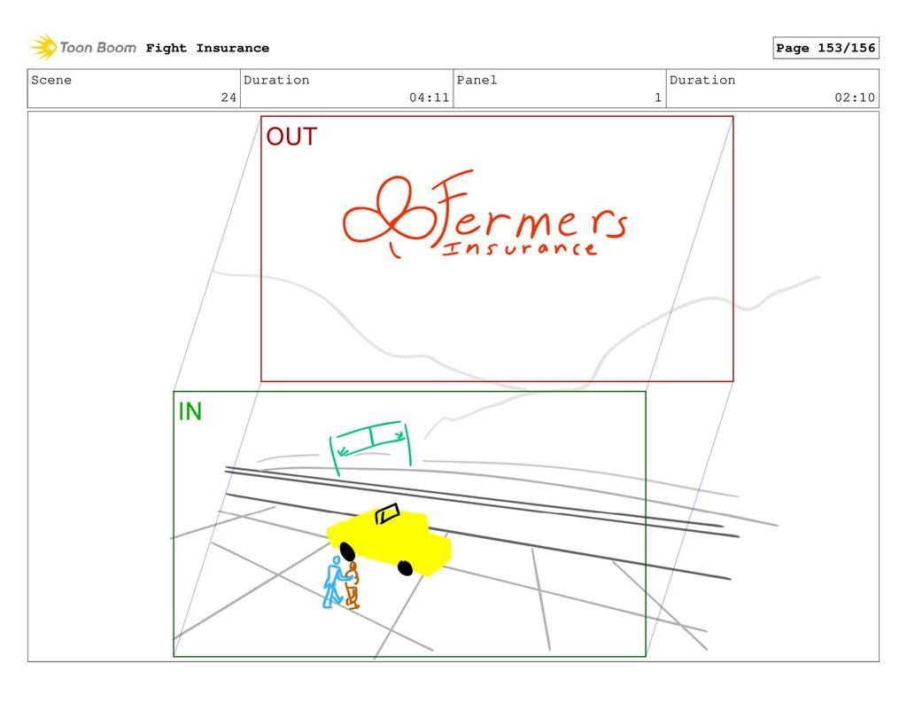 Scene 24 Duration 04:11 Panel 1 Duration 02:10 ...
