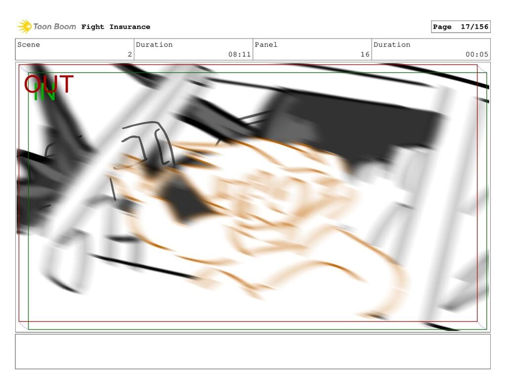 Scene 2 Duration 08:11 Panel 16 Duration 00:05 ...