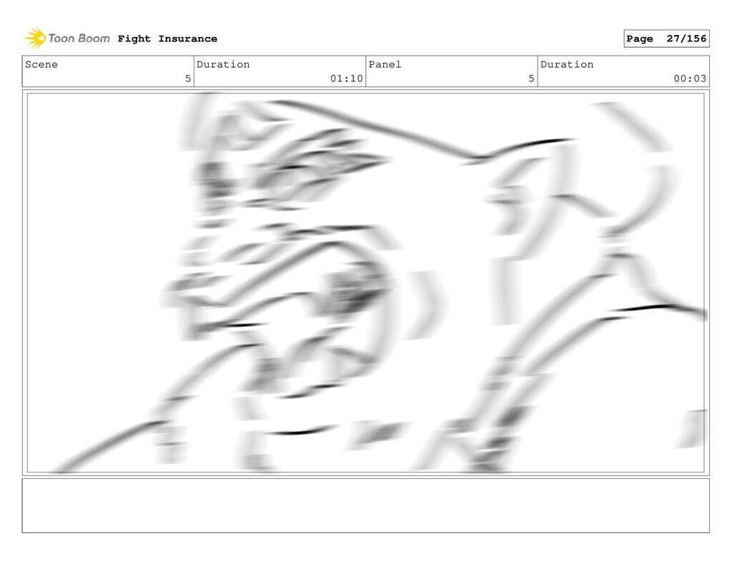 Scene 5 Duration 01:10 Panel 5 Duration 00:03 F...