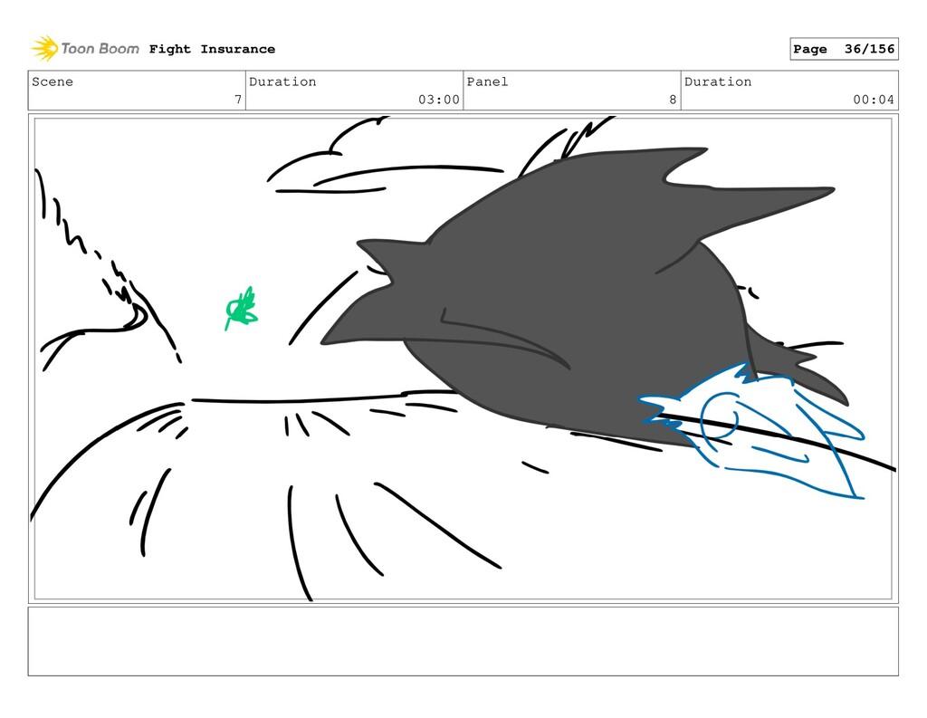 Scene 7 Duration 03:00 Panel 8 Duration 00:04 F...