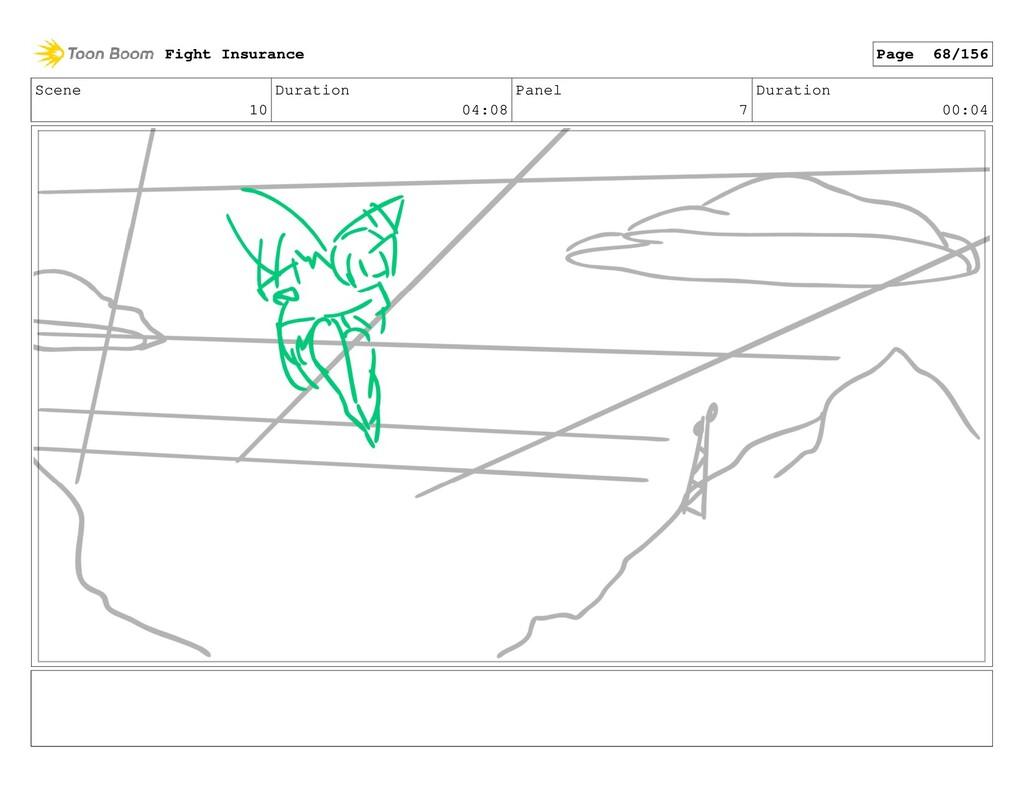 Scene 10 Duration 04:08 Panel 7 Duration 00:04 ...