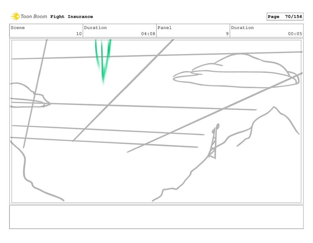 Scene 10 Duration 04:08 Panel 9 Duration 00:05 ...