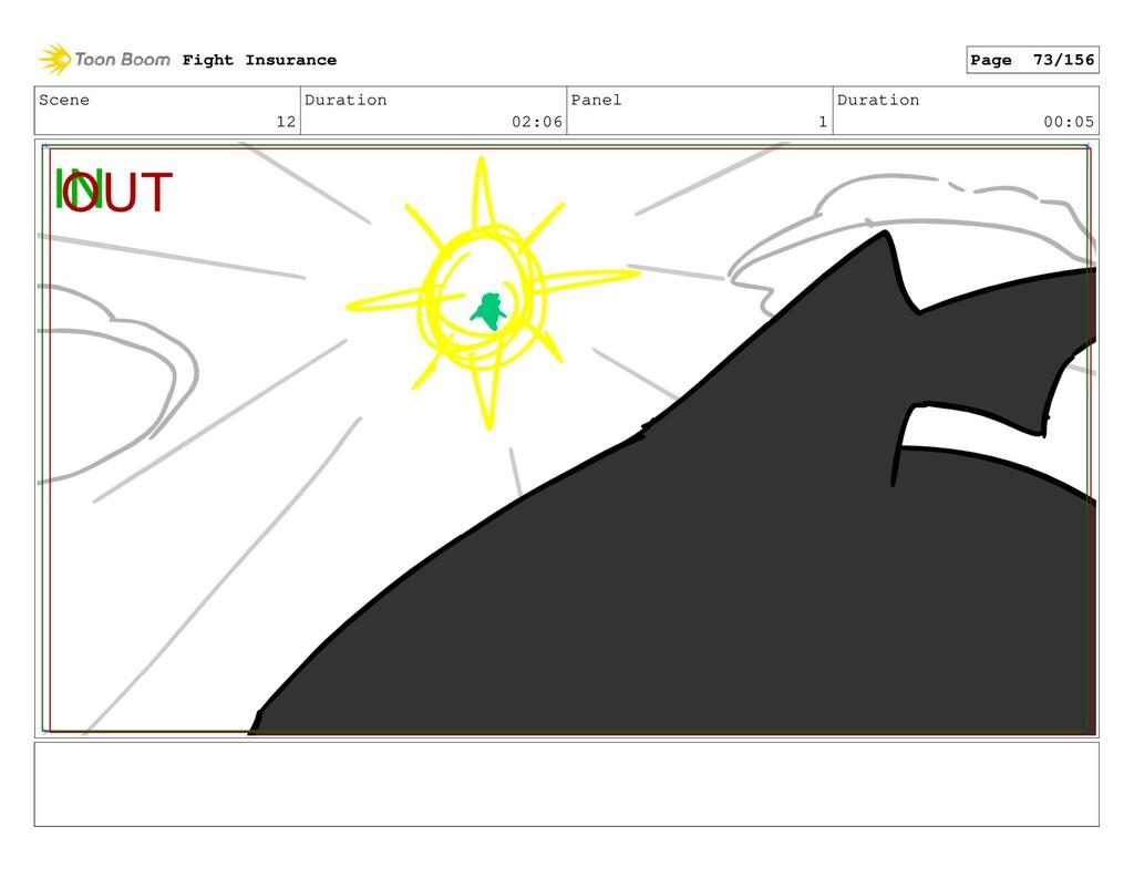 Scene 12 Duration 02:06 Panel 1 Duration 00:05 ...