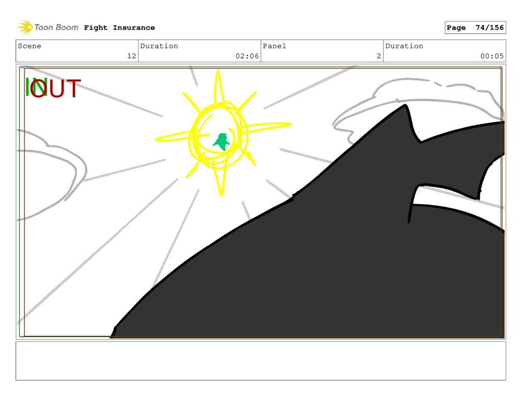 Scene 12 Duration 02:06 Panel 2 Duration 00:05 ...