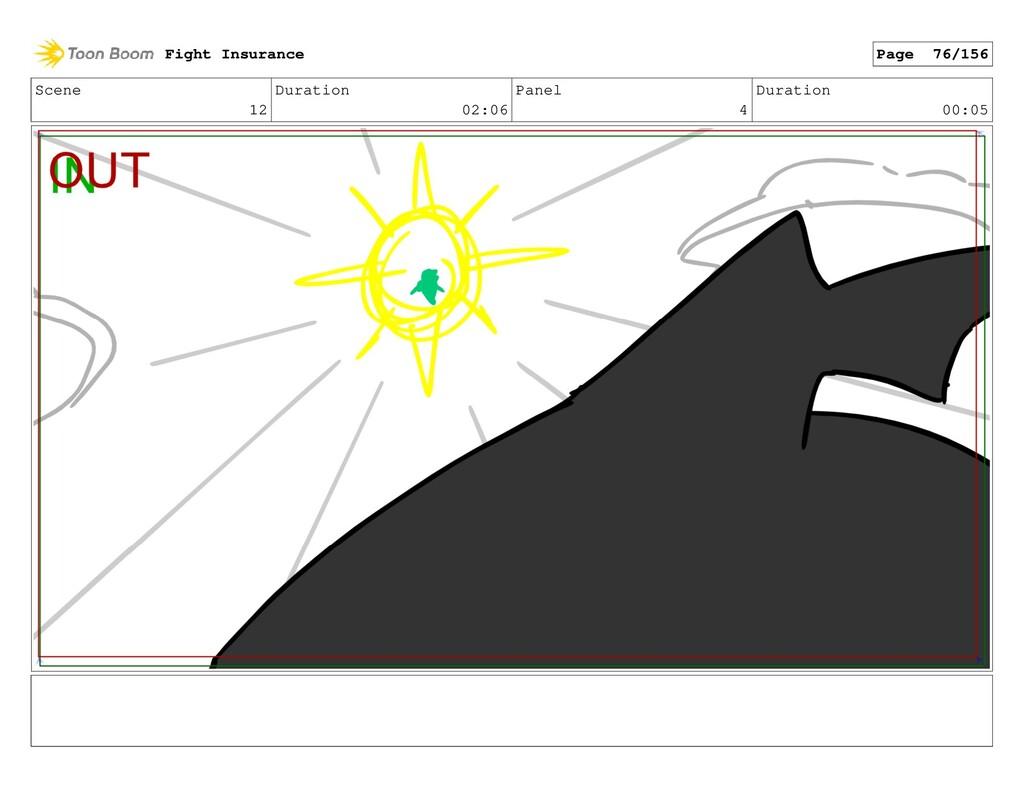 Scene 12 Duration 02:06 Panel 4 Duration 00:05 ...