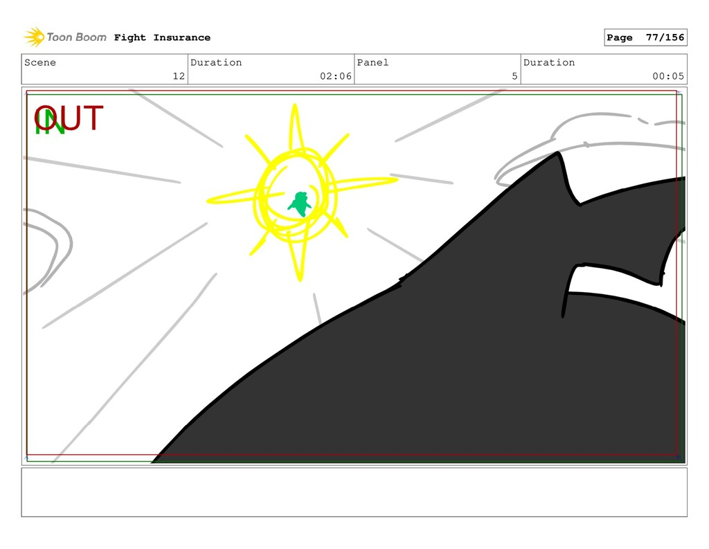Scene 12 Duration 02:06 Panel 5 Duration 00:05 ...