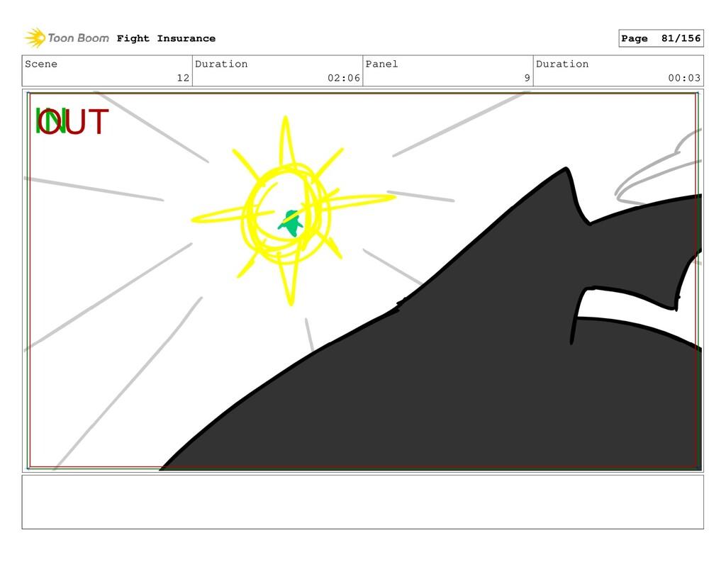 Scene 12 Duration 02:06 Panel 9 Duration 00:03 ...