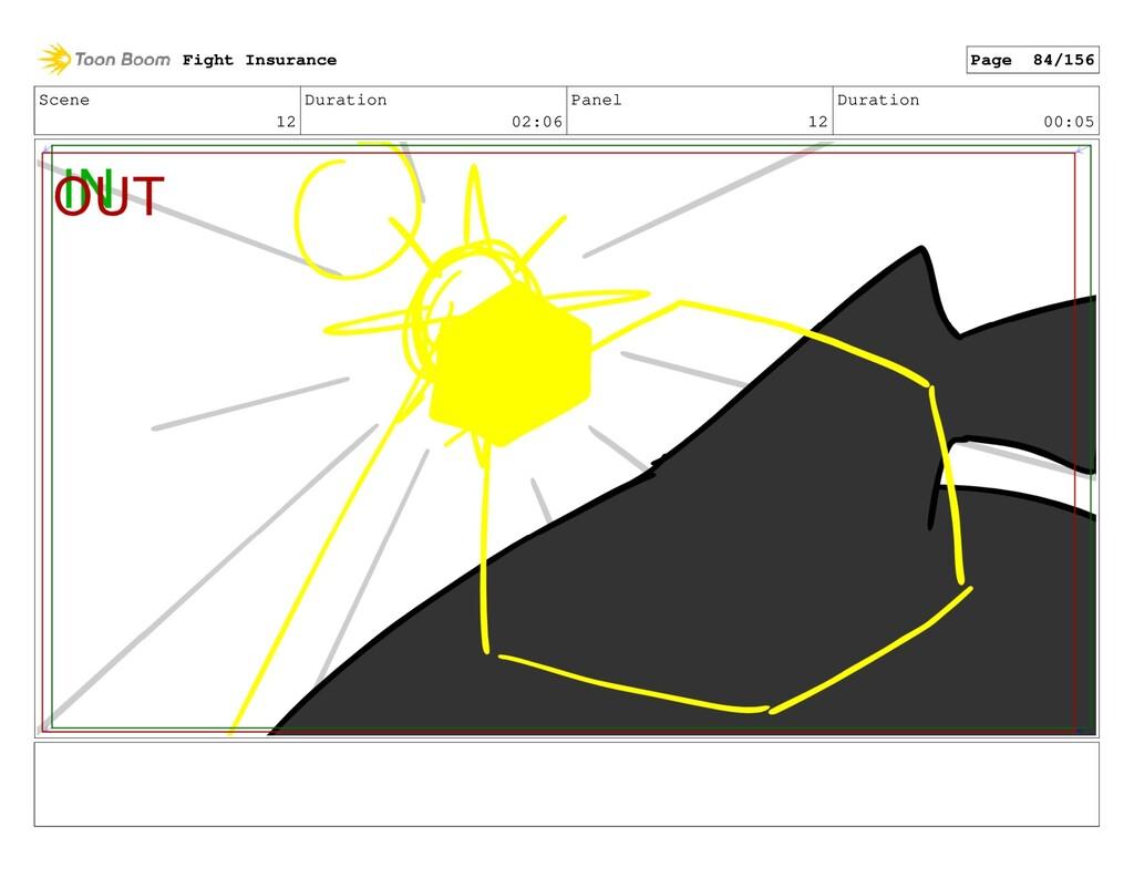 Scene 12 Duration 02:06 Panel 12 Duration 00:05...
