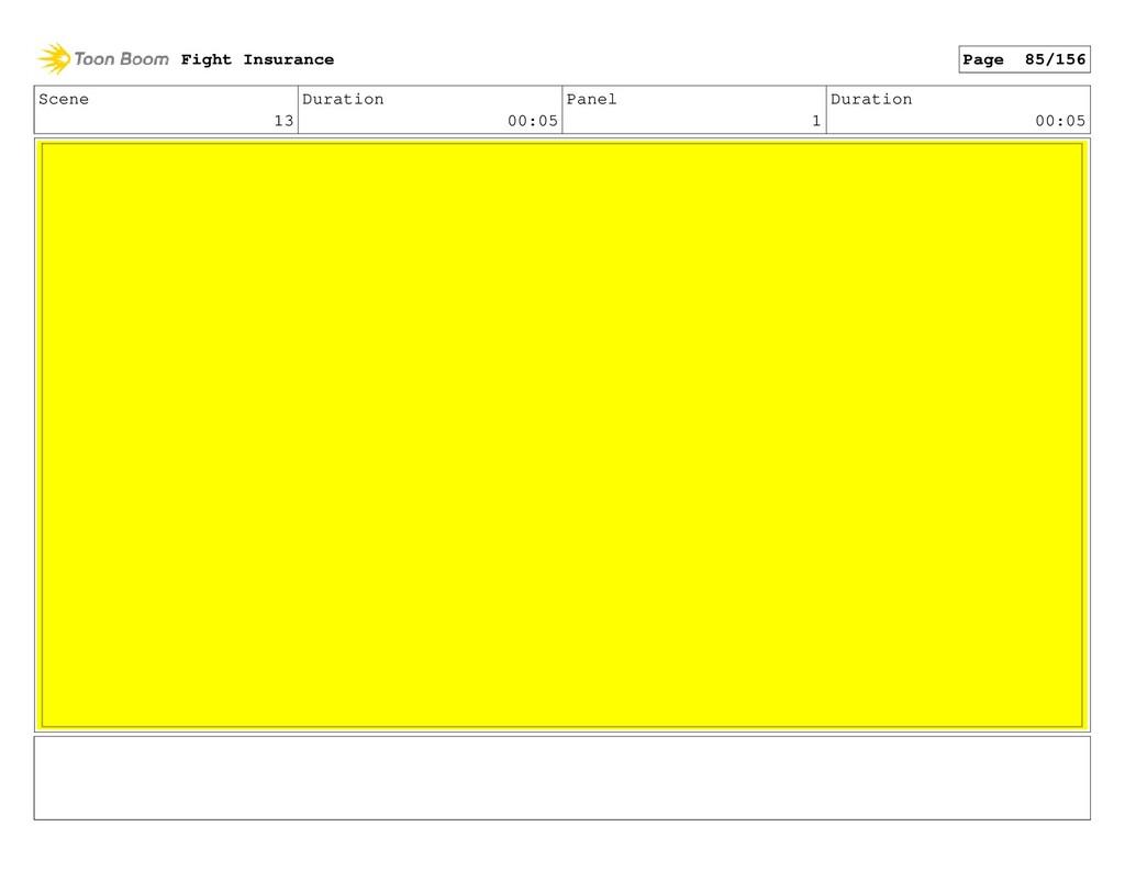 Scene 13 Duration 00:05 Panel 1 Duration 00:05 ...