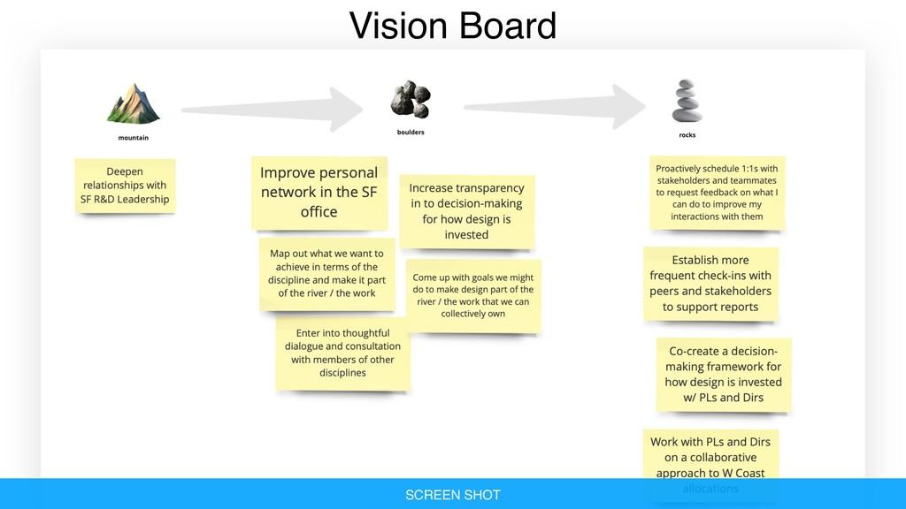Vision Board SCREEN SHOT