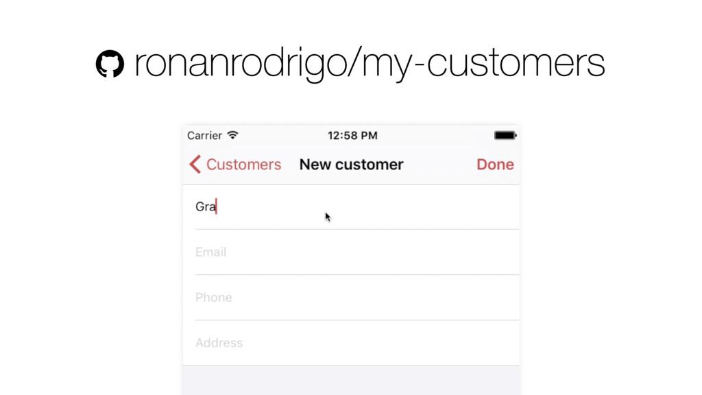 ! ronanrodrigo/my-customers