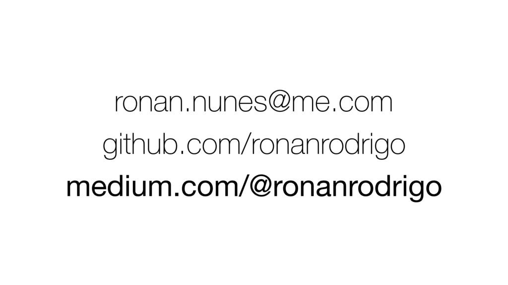 ronan.nunes@me.com github.com/ronanrodrigo medi...