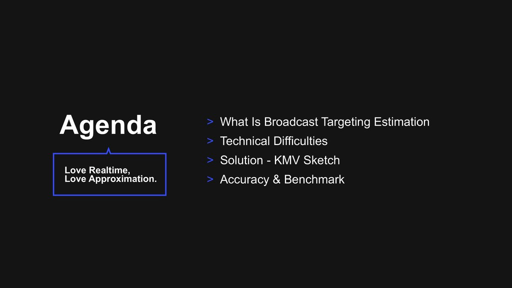 Agenda > What Is Broadcast Targeting Estimation...