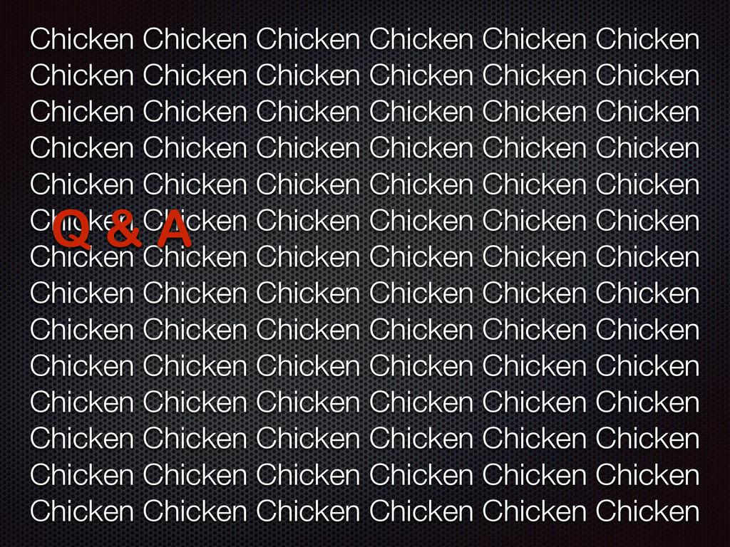 Chicken Chicken Chicken Chicken Chicken Chicken...